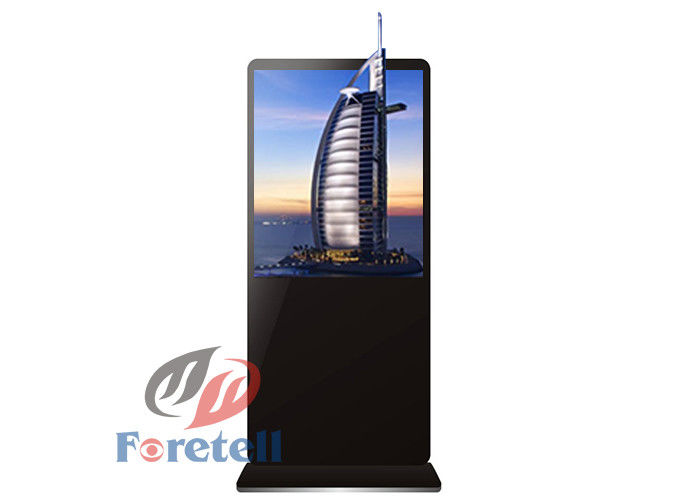 Autostereoscopic 3D Advertising Display Indoor Digital Signage 55 Inch Glass Free 3d Display