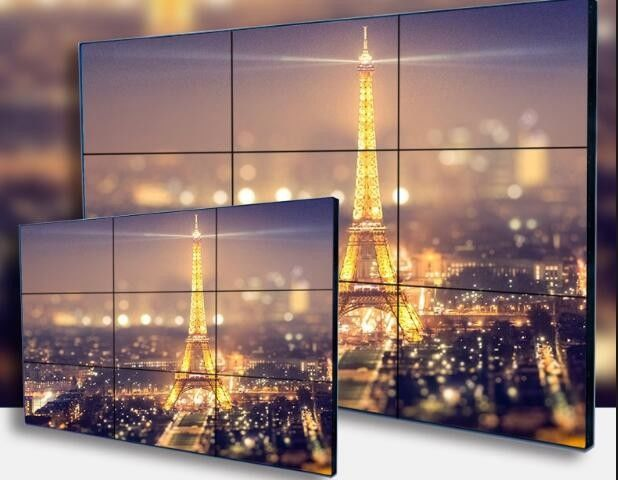 High Definition Hdmi Ultra Narrow Lcd Video Wall Display For Airport And Hotel